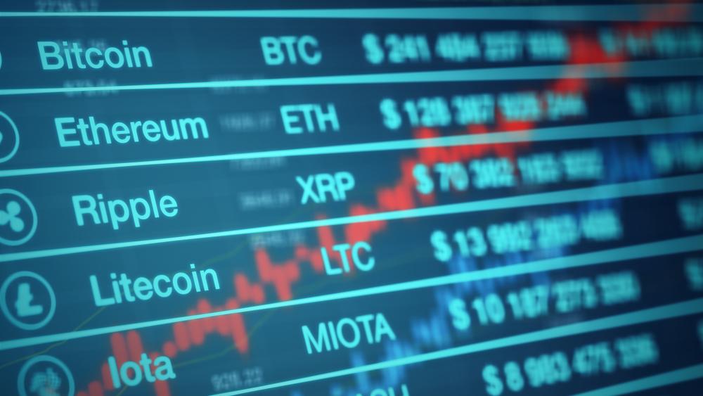 Crypto Trading Screen
