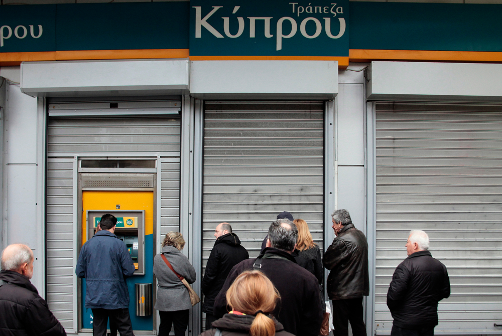 Bank Account Holders In Cyprus Lining Up