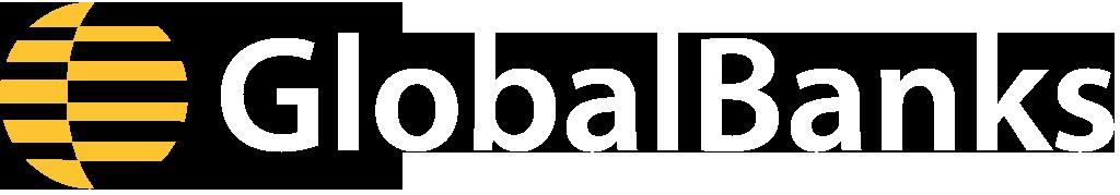 GlobalBanks Logo White