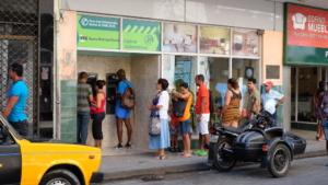 cuba banking - banking line