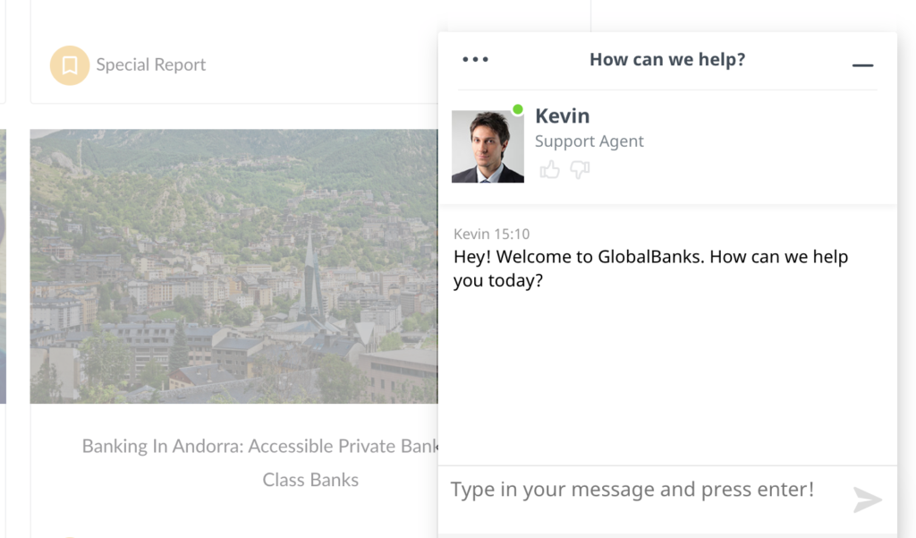 about-globalbanks-support-agent-chat