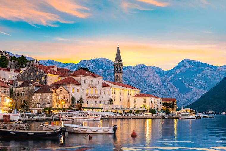 Montenegro bank account Perast