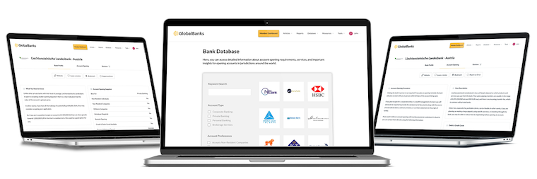 GlobalBanks Database