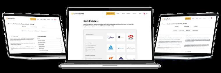 GlobalBanks Database