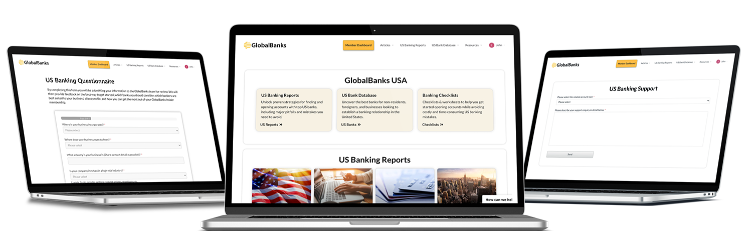 GlobalBanks USA Account Opening