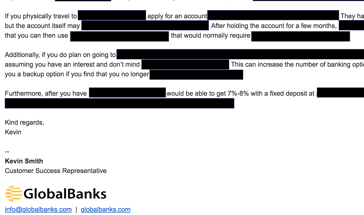 about-globalbanks-email-sample